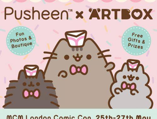 Pusheen x ARTBOX MCM London Comic Con