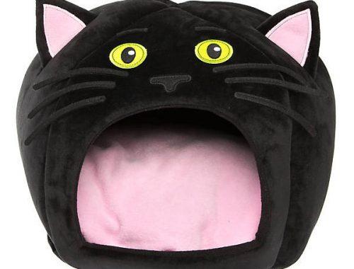 Halloween cat bed
