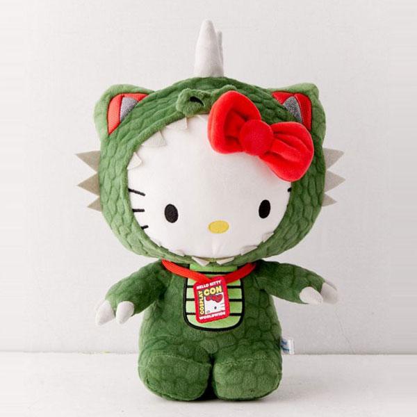 Godzilla Hello Kitty plush