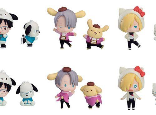 Yuri!!! on Ice x Sanrio kawaii figures