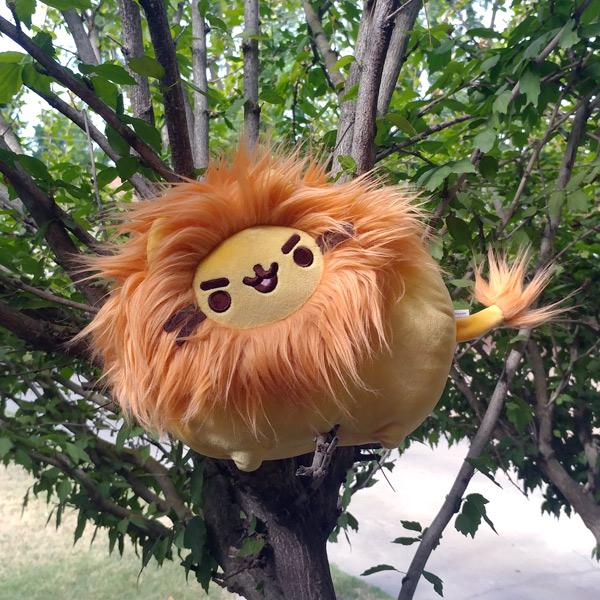 kawaii plush Pusheen lion
