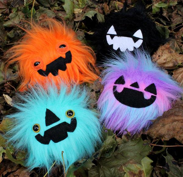 Spooky Cute Halloween kawaii plush pumpkin