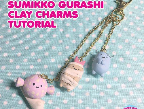 Halloween Sumikko Gurashi Clay Charm Tutorial