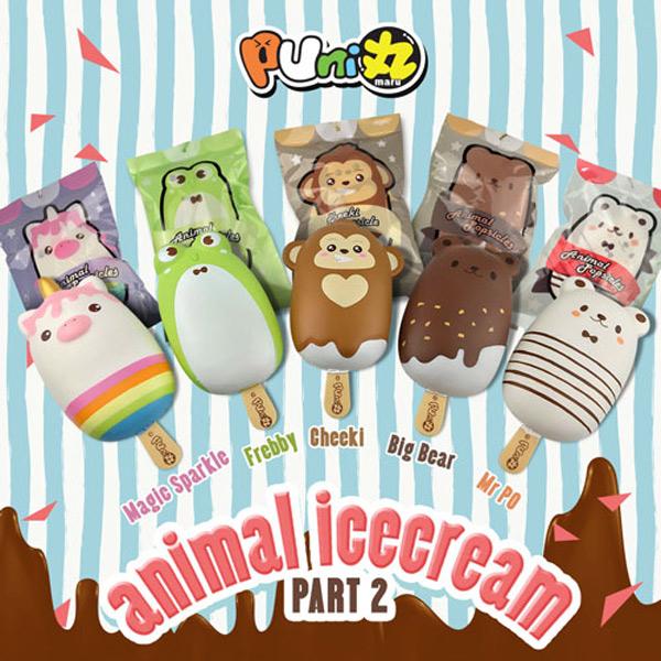 kawaii animal ice cream squishies