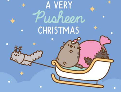 A Very Pusheen Christmas at ARTBOX