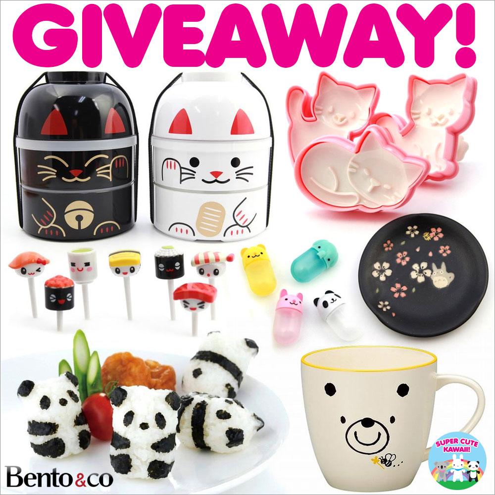 Bento&co giveaway