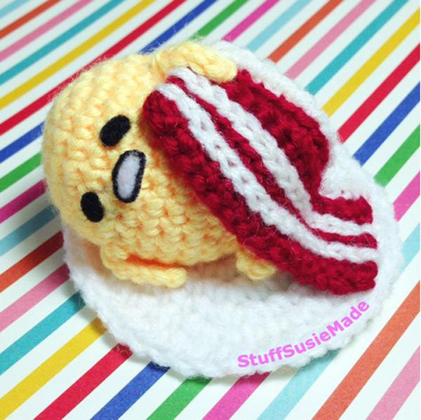 Kawaii Gudetama DIY Crafts amigurumi crochet pattern