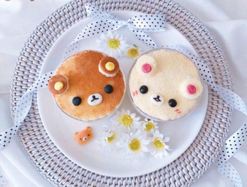 Kawaii Rilakkuma & Korilakkuma Trifle Recipe