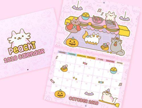 Cats 2018 Calendars