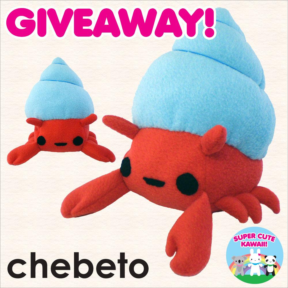 chebeto plush giveaway