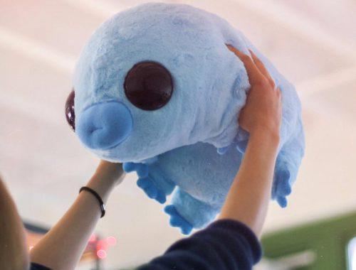 whimsical plushies - kawaii tardigrade water bear