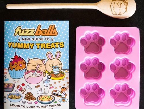 Fuzzballs kawaii baking set