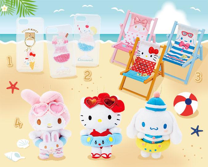 kawaii summer sanrio plush