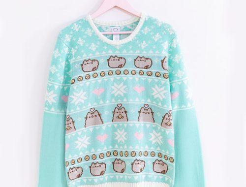 Cute Christmas Jumpers & Sweaters Pusheen