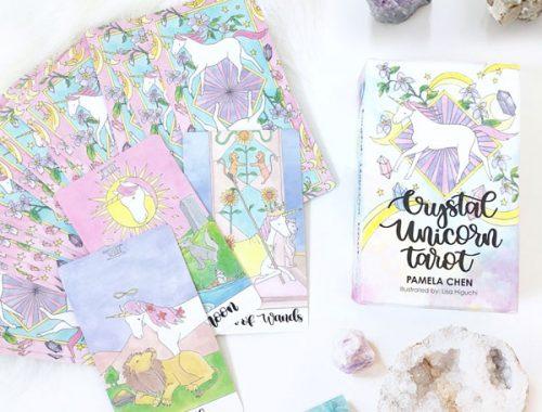 kawaii unicorn tarot cards