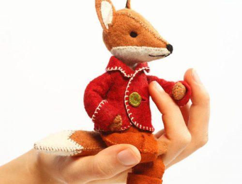 Kawaii Fox Crafts - sewing kit