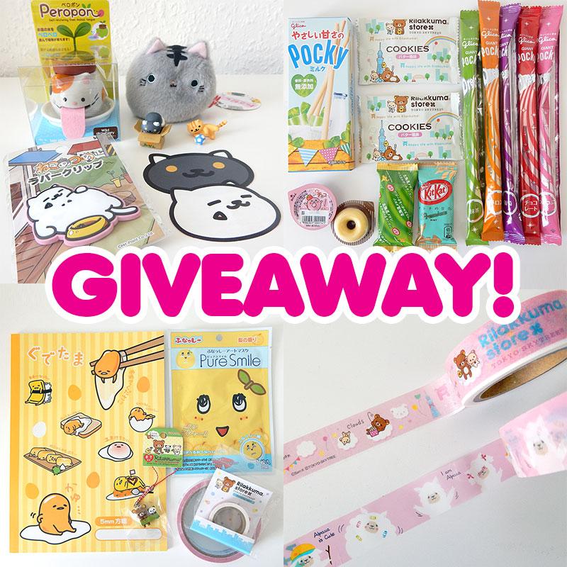 super cute kawaii japan giveaway