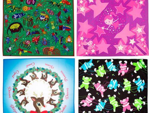 Kawaii Gift Wrapping - fabric wraps