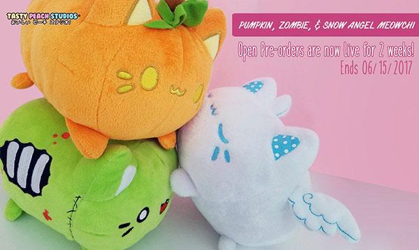 halloween meowchi plush