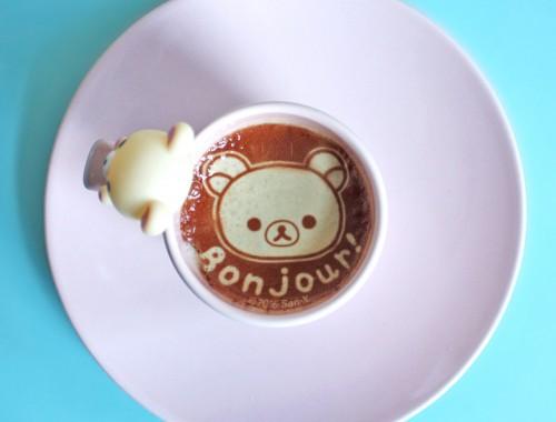 Rilakkuma Deco Latte review