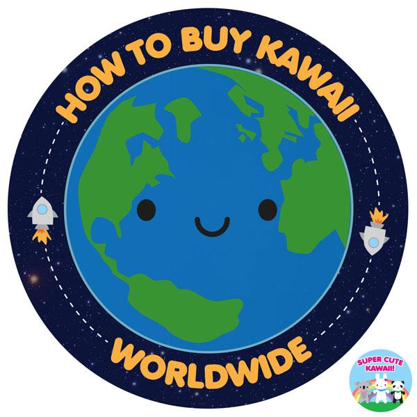 where to buy kawaii worldwide