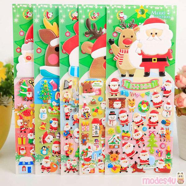 kawaii christmas stationery